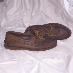 Sperry Leather Top Sider Sz 9